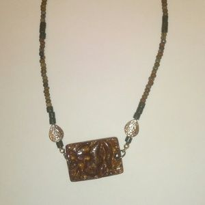 Brown Bohemian Necklace  36
